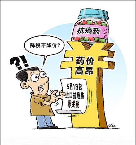 进口药免税后仍高于国外? 专利制度不当背锅侠